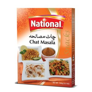 national chaat masala snacks