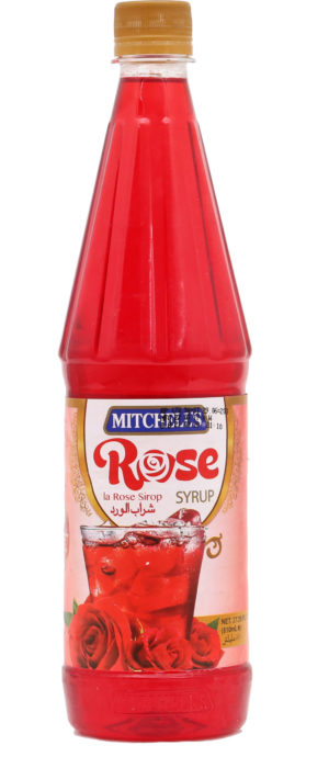 Mitchell's Rose Syrup 800ml