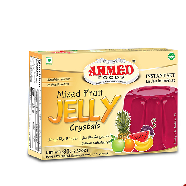 ahmed mixed fruit jelly crystals