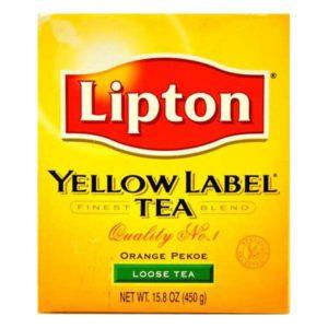 lipton lose tea