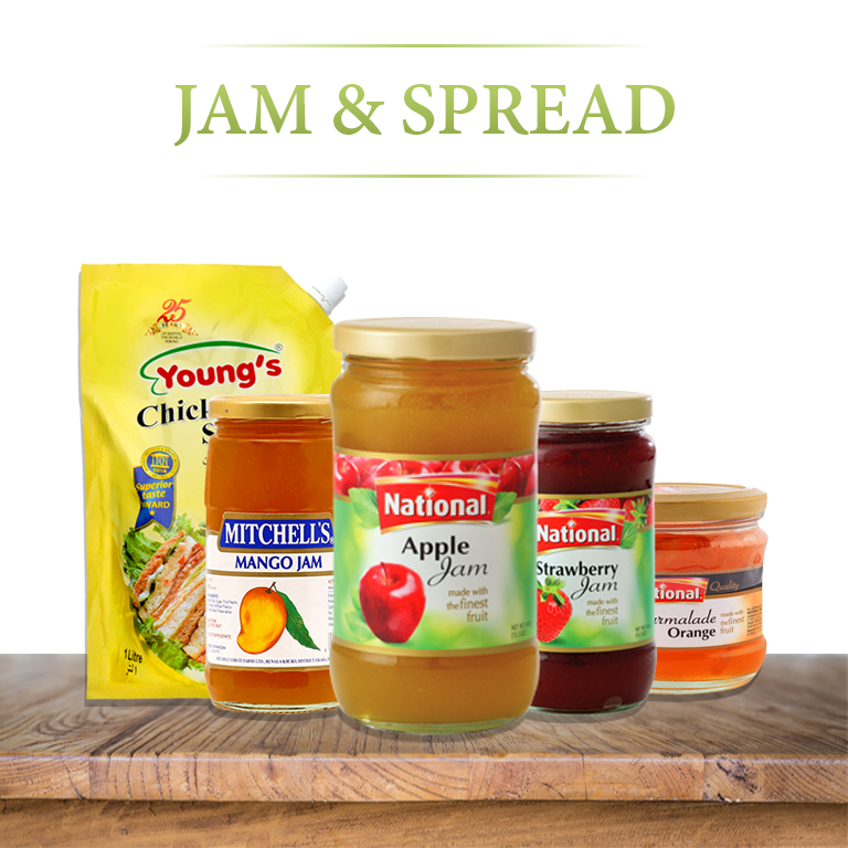 Jam and Spread