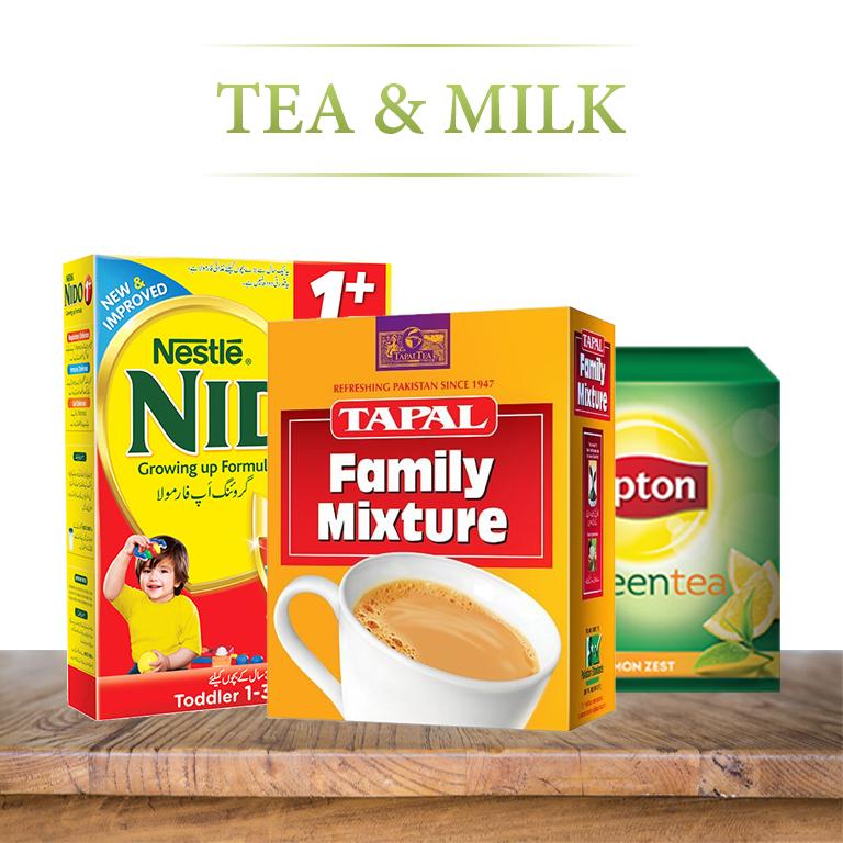 Tea & Milk Powder